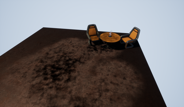 Procedural dirt in UE4